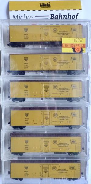 6x RMDX Refrig Transit 51' 3-3/4 Mech Reefer Micro Trains Line 69052 N 1:160 S02 å