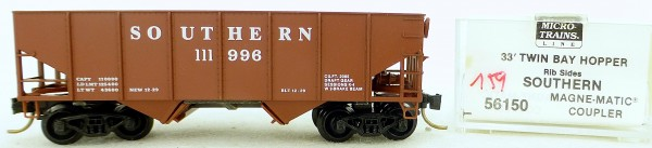 Micro Trains Line 56150 Southern 111996 33' Twin Hopper OVP 1:160 #K159 å