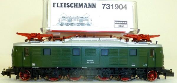 E 119.0 Ellok DB EpIV DSS Fleischmann 731904 OVP N 1:160 NEU å *