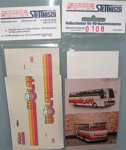 Wolff Stettnisch Beschriftung Bus Setra S215HD O303