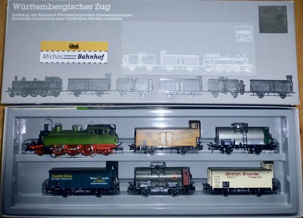 Württembergischer Zug mit T5 Dampflok Märklin 2857 H0 1:87 OVP KA2 å