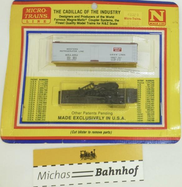 BLISTER KIT GB&W Lines WRX 9453 Bausatz Micro Trains 55199 1:160 HC6 å