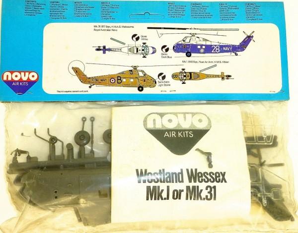 Westland Wessex Mk.I 31 Anti Submarine Helicopter F247 Novo 78025 1:72 OVP å *