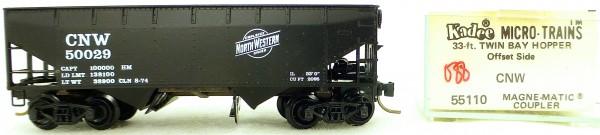 Micro Trains Line 55110 CNW 50029 33' Twin Bay Hopper OVP 1:160 #K088 å