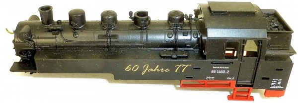 60 Jahre TT Gehäuse Dampflok BR 86 TT 1:120 Ersatzteil å *