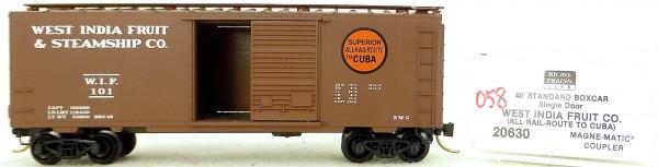 Micro Trains Line 20630 W.I.F. 101 40' Standard Boxcar 1:160 OVP #H057 å