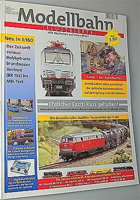Modellbahn Illustrierte MBI Januar Februar 2012 Heft Nr 1 KF2 µ