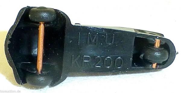 Cabriolet KR200 SCHWARZ Kabinenroller Messerschmitt IMU 1:87 H0 HM2 å *