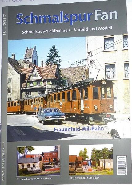 IV 2017 Schmalspur Fan Feldbahnen Vorbild Modell Frauenfeld Bahn µ*