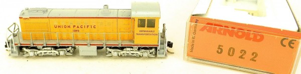 ARNOLD 5022 Union Pacific 1092 Diesellok N 1:160 OVP Getriebe rattert å *
