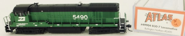 Atlas 49904 B30-7 Burlington Northern 5490 Diesellok Decoder Ready OVP N 1:160 #04& å