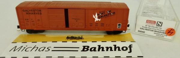 Galveston Wharves 50' Rib Side Box Car Micro Trains Line 30040 1:160 P71 å