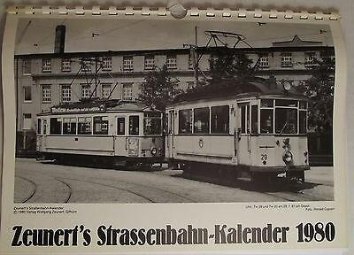 Zeunert's Strassenbahn-Kalender 1980