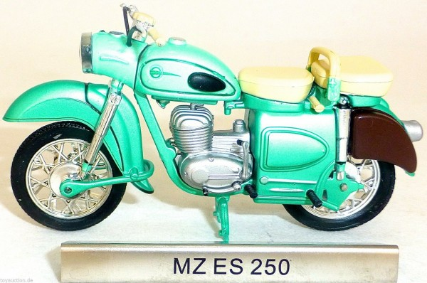 MZ ES 250 Motorrad DDR Baujahr 1956 bis 1962 1:24 ATLAS 7168102 NEU OVP LA µ*