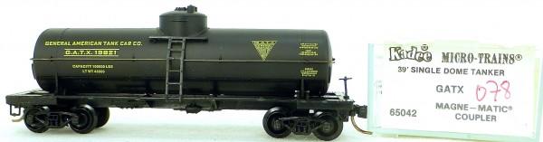 Micro Trains Line 65042 GATX 19821 39' Single Dome Tank Car 1:160 OVP #i078 å