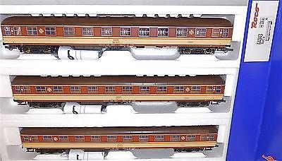 RENFE Liegewagen Estrella 3tlg SET EpIV DSS Roco 64043 H0 1:87 NEU OVP KE1 µ *