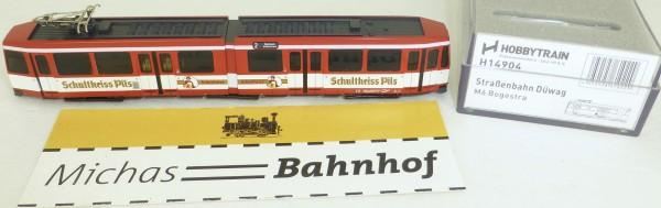 Hobbytrain H14904 Schultheiss Pils Straßenbahn Düwag M6 BOGESTRA DSS N 1:160 OVP HB3 µ *