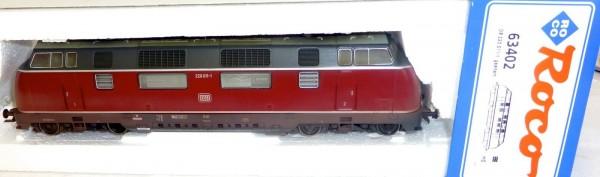 V 220 011 1 Diesellok gesupert DSS Roco 63402 OVP H0 1:87 neuwertig KA2 µ *