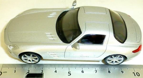 Mercedes SLS AMG Sportwagen PKW silber NEU 1:43 µ *