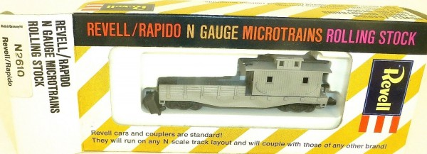 Boom Car Frisco grau Revell rapido microtrains N-2610 OVP HT5 å *