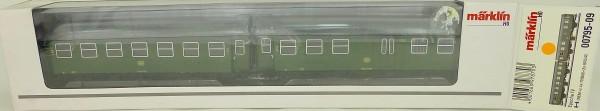 Märklin 00795-09 Umbauwagen Paar DB 2./2. Kl EpIV H0 1:87 NEU µ