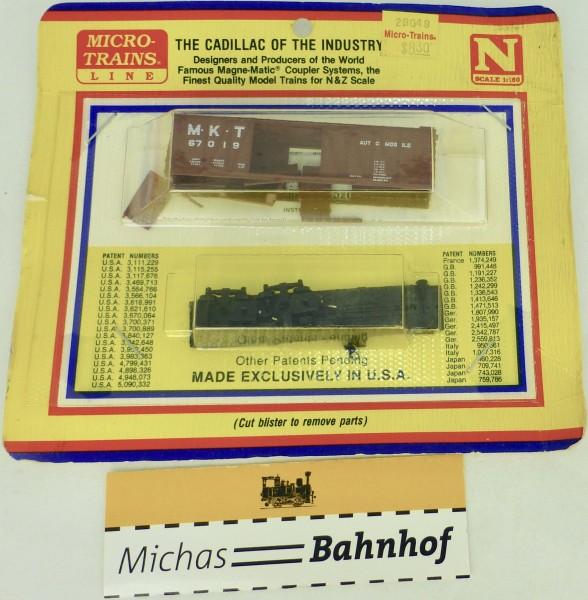 BLISTER KIT M.K.T. 67019 Boxcar Bausatz Micro Trains 29049 N 1:160 HC6 å