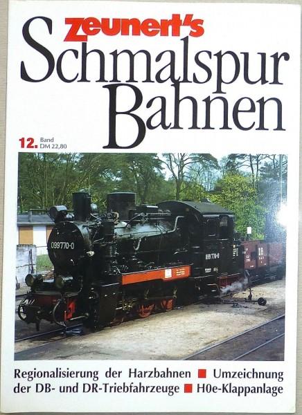 Band 12 Zeunert's Schmalspur Bahnen å *