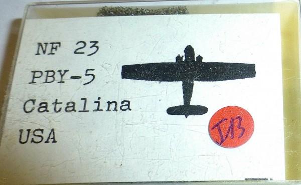 NF 23 PBY-5 Catalina USA zu Schiffsmodell 1:1250 SHPI13 å *