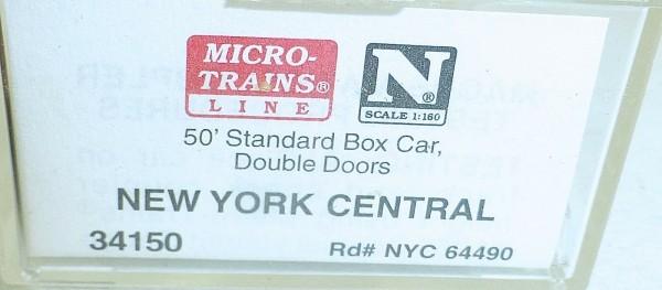 Micro-Trains Line 34150 New York Central 50' Standard Box Car N 1:160 A å *