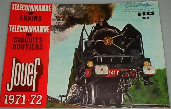 Jouef Katalog 1971 1972 å mehrsprachig