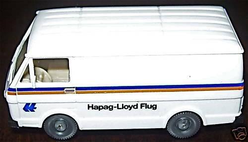 VW LT 28 Hapag Lloyd Flug Werbemodell WIKING 1:87 å