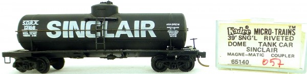 Micro Trains Line 65140 Sinclair 12168 39' Single Dome Tank Car 1:160 OVP #i057 å