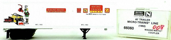 Micro Trains Line 67060 MTL 1992 45' Trailer 1:160 OVP #i008 å