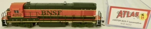 Atlas 49709 B23-7 BNSF 4252 Diesellok Decoder Ready OVP N 1:160 #44* å