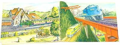 Fleischmann Katalog 1957 å *