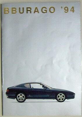 Bburago Katalog 1994 leichte Gebrauchsspuren å