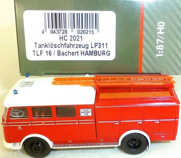 Tanklöschfahrzeug LP311 TLF16 Bachert HAMBURG HEICO HC2021 OVP NEU µ