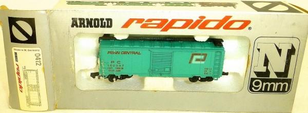 Penn Central türkis Güterwagen ARNOLD rapido 0412 OVP HU3 å *