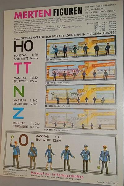 Merten Katalog Neuheiten 1977 å *