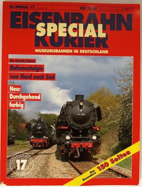 EK-Special 17 Museumsbahnen in Deutschland Neu: Durchgehend Farbig