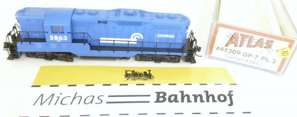 Atlas 48209 GP-7 Ph.2 Conrail 5863 Diesellok OVP N 1:160 #10! å