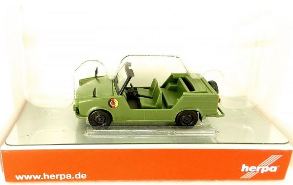 Trabant Kübel Trabbi Volksarmee DDR NVA HERPA 024440 NEU 1:87 H0 OVP HU6 µ *