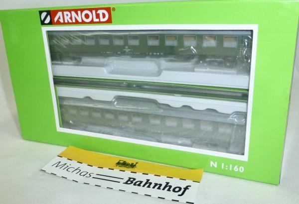 2-teiliges Set Salonspeisewagen DR EpIV Arnold HN4147 N 1:160 HR4 å