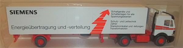 Energieübertragung und -verteilung Schaltgeräte SIEMENS Werbemodell LKW WIKING