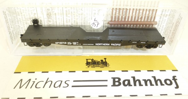 MICRO TRAINS 45250 Northern Pacific 62718 50' Flatcar Fishbelly Side N 1:160 #157L å