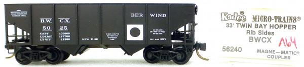 Micro Trains Line 56240 BWCX 33' Twin Bay Hopper 1:160 OVP #i164 å
