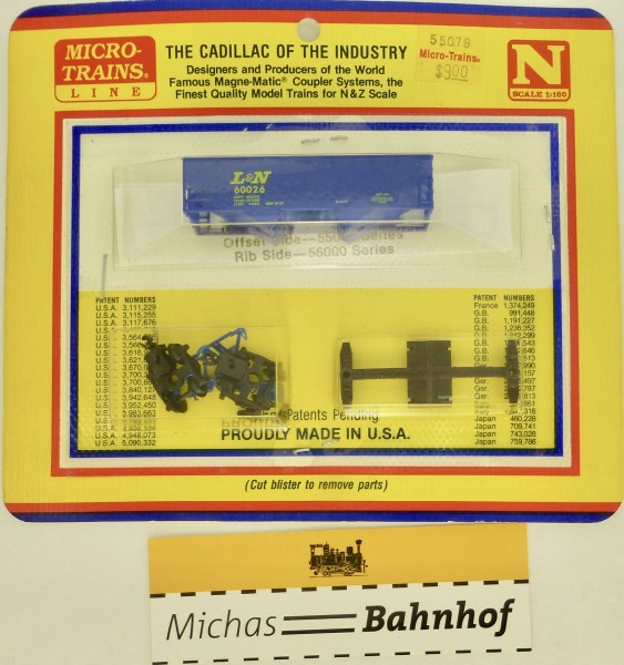 BLISTER KIT L&N. 60026 Offset Side Micro Trains 55079 OVP 1:160 å