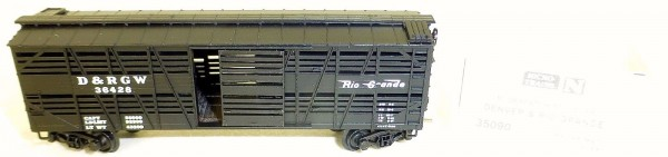 Micro-Trains Line 35090 Denver & Rio Grande 40' Despatch Stock Car N 1:160 A å *