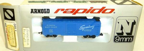 Florida East Coast Speedway 10.10.69 ARNOLD rapido 0411F N 1:160 OVP HU3 å *