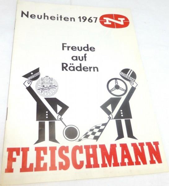 Fleischmann Neuheitenblatt 1967 # å